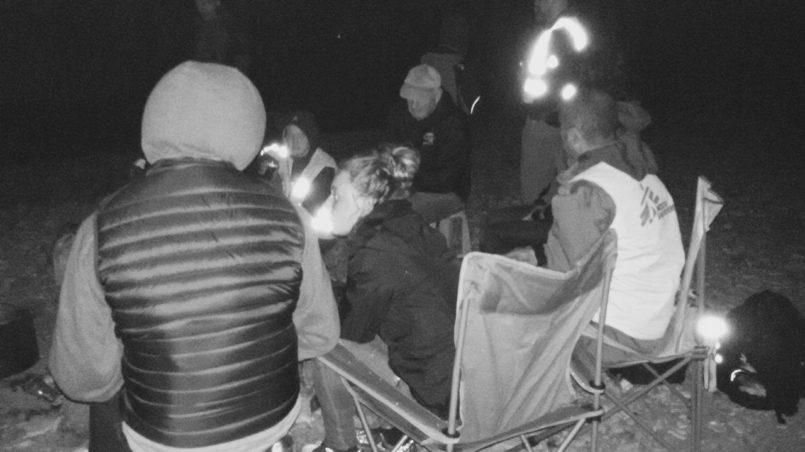 """Volontäre Stützpunkt """"Campfire"""", Lesbos"""