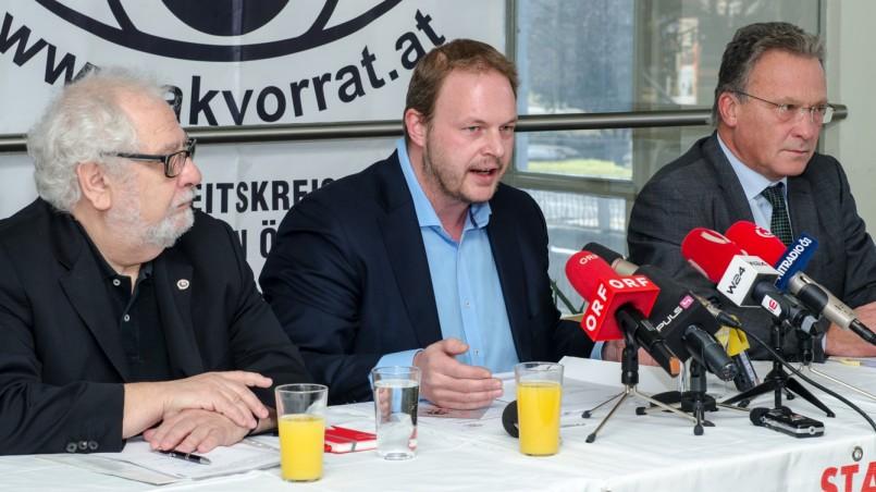 Pressekonferenz - Stoppt das Staatsschutzgesetz