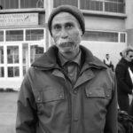 Coast of Lesbos, portrait of an elderly man