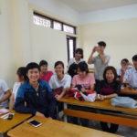 Universität für Industrie in Hanoi (HaUI), in einem Klassenzimmer