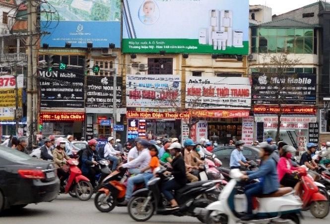 Verkehr in Hanoi