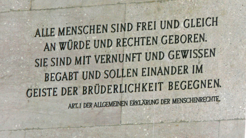 Vienna-Parlament, Human Rights
