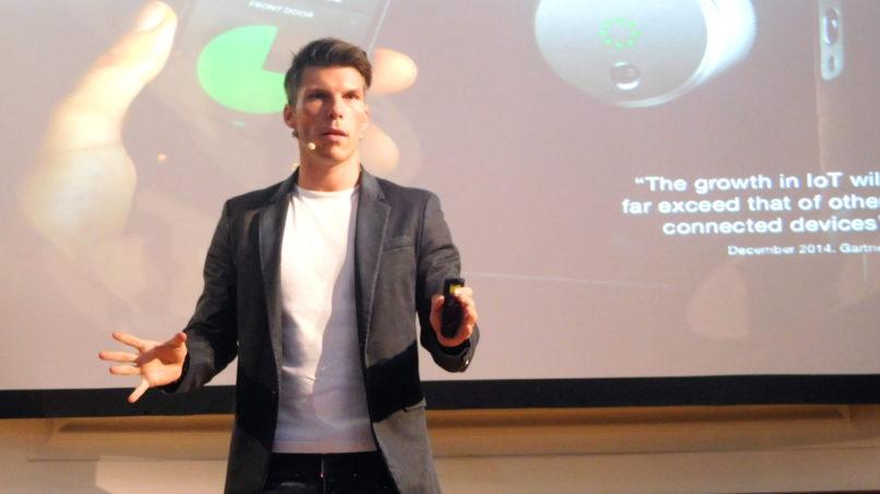 "Florian Gschwandtner, founder of ""Runtastic"""