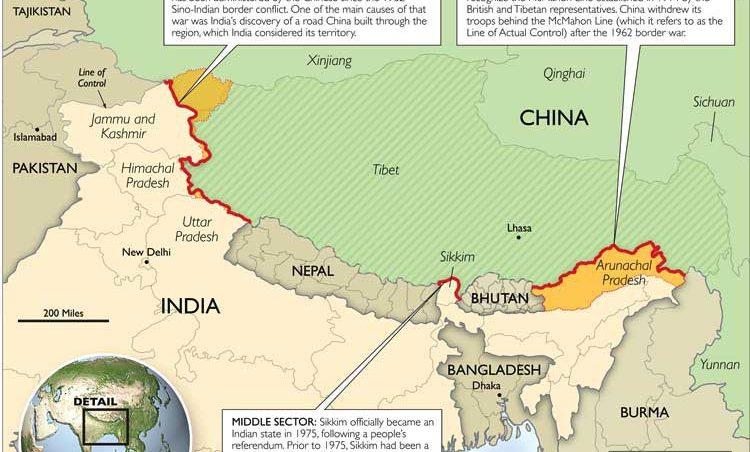 China und indien