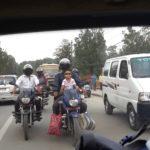 Verkehrsstau in Kathmandu