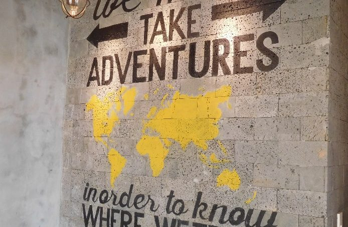 We must take adventures - in order to know where we truly belong.