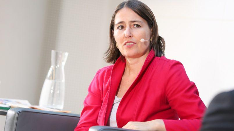 Frau Dr. Alexandra Föderl-Schmid, derStandard.at-Chefredakteurin im Europa DIALOG