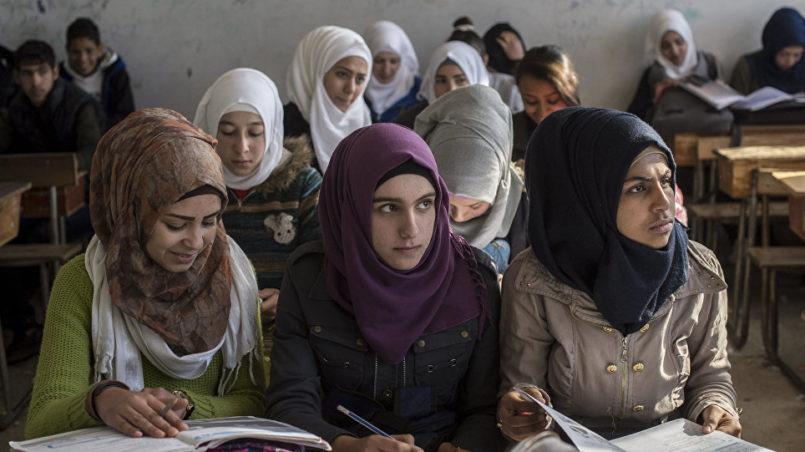 Frauen mit Kopftücher Islam