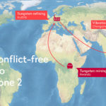route of conflict free tungsten
