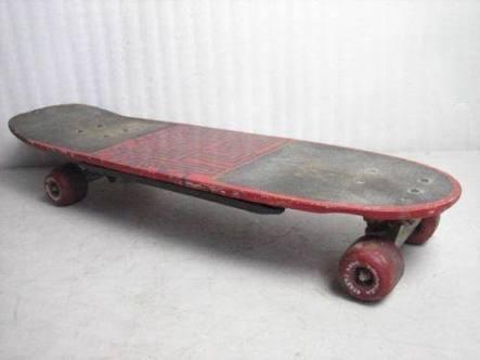 Mein allererstes Skateboard