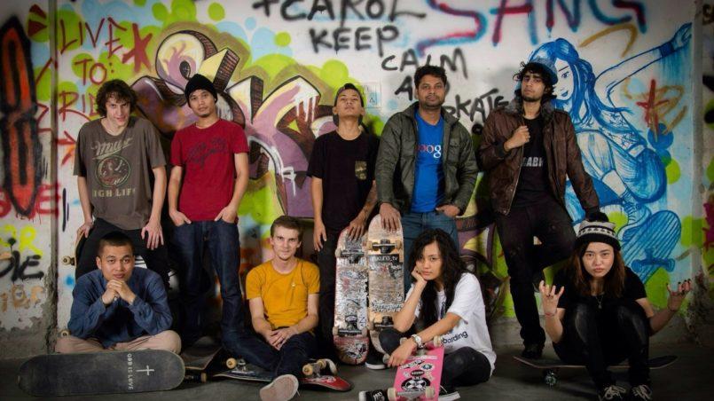 Unsere Skateboard-Community