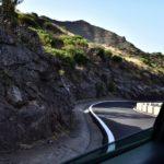 Teneriffa 2016 - Winding mountain road