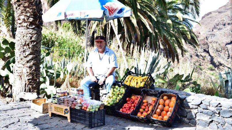 Teneriffa 2016 - Vendor in Masca