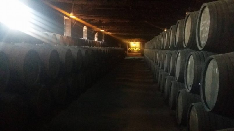Wine caves of porto