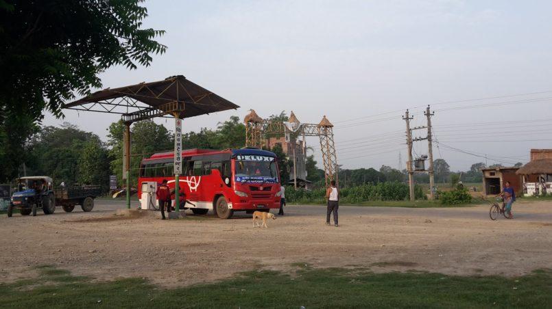 Bus from Kathmandu to Chaurjahari