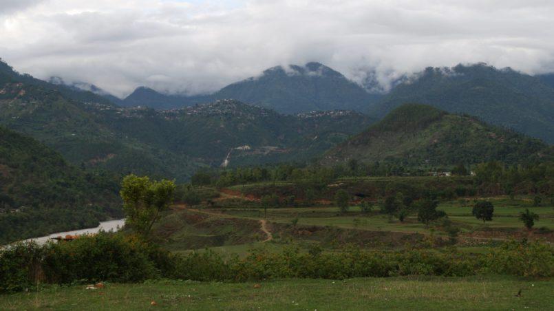 Die Umgebung von Chaurjahari