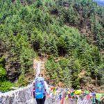 Overcoming my fears, 200 meters high suspension bridge