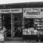Last pharmacy on the way to EBC