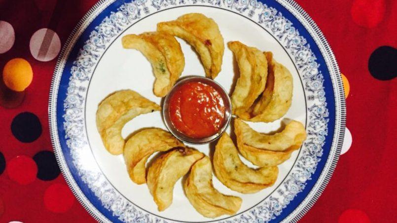 Momo (traditional South Asians dumplings)