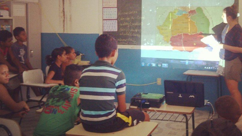 Teaching in school