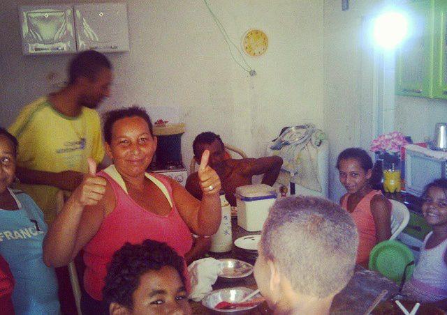 Das Osterfest mit den Familien