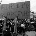 Protest against Moria detention center