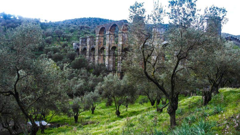 Roman Aqueduct Lesbos 1