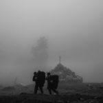Der Nebel verschleiert uns die Sicht