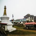 Das Tengboche Kloster am Nachmittag