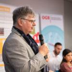 Der Moderator und Gastgeber Werner Drizhal