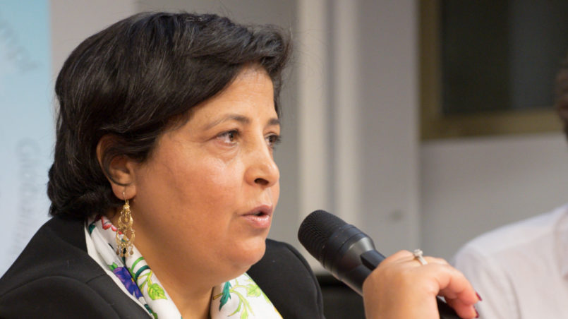 Fatima Bousnina Gewerkschafterin
