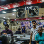 Restaurant in the heart of Delhi selling paranthe wali gali