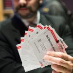 So, wie jedes Jahr sind alle Tickets reserviert.