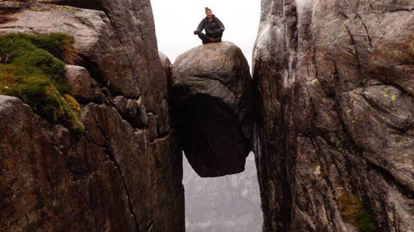 Kjeragbolten – es ist nicht so gefährlich, wie es aussieht
