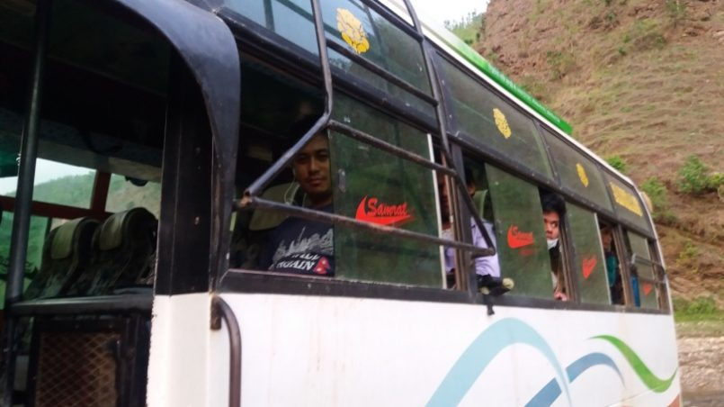 The Reserved Bus for Medical Camp