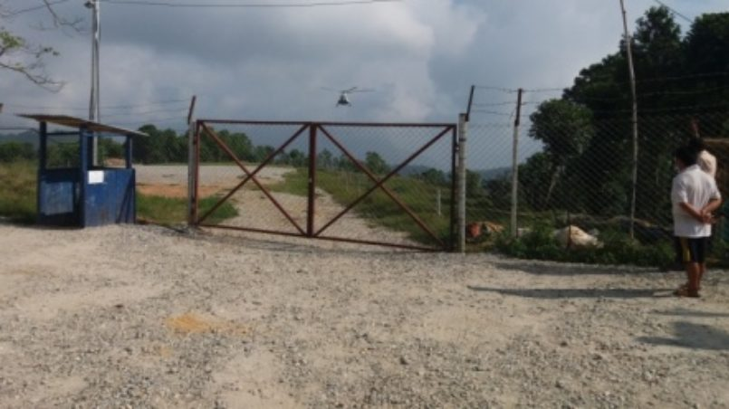 The Emergency Relief Camp and the Helipad