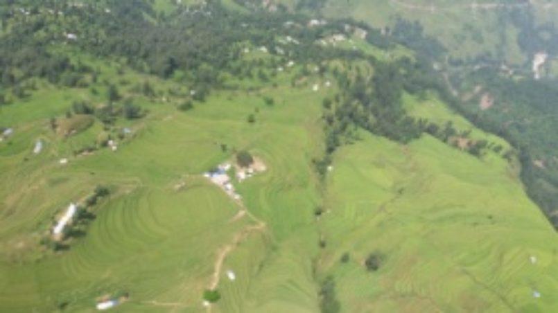 Ein paar Aussichten vom Hubschrauber aus