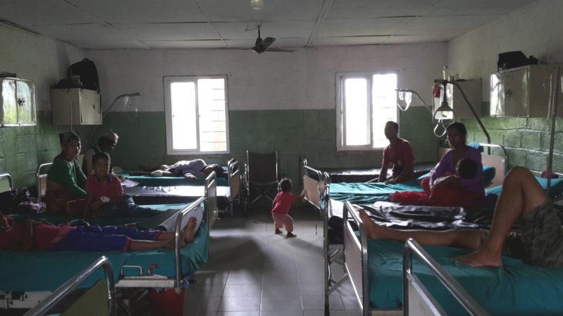 Hauptabteilungsraum des Krankenhauses
