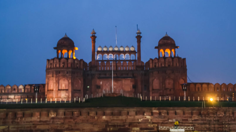 Outside Red Fort 2