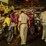 Traffic regulation in Old Delhi Bazaar