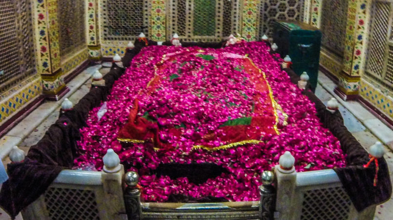 The mausoleum of Nizamuddin