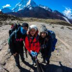 Leaving Dingboche 1