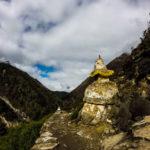 Stupa along the way