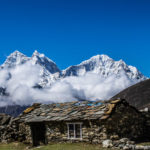 Leaving Dingboche 2
