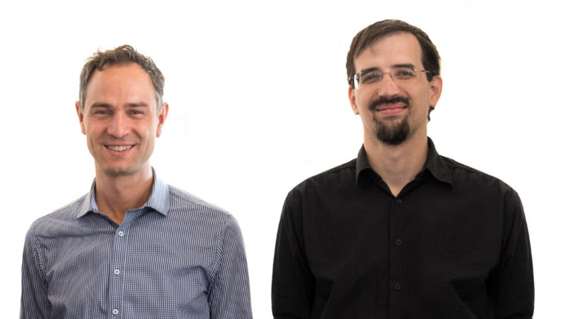 Dr. Ganser and Mag. Christoph Janisch