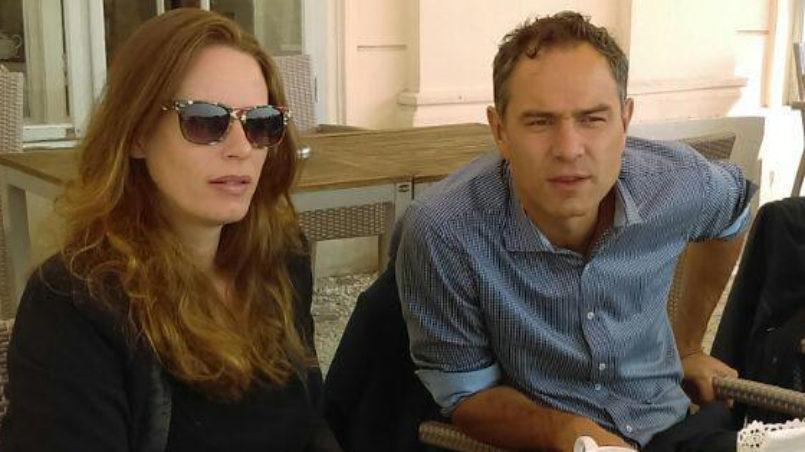Annna Dichen und Dr. Daniele Ganser
