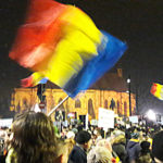 Protest night 02 in Cluj-Napoca, February 2017