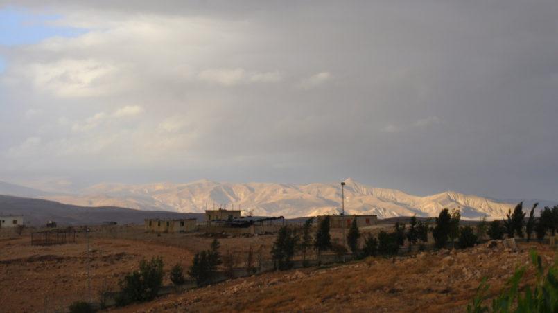 Landschaft von Jericho