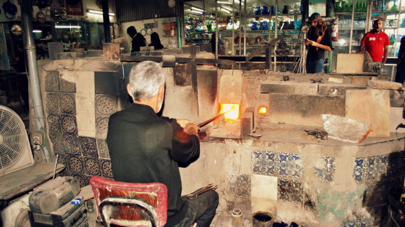 glassblowing factory