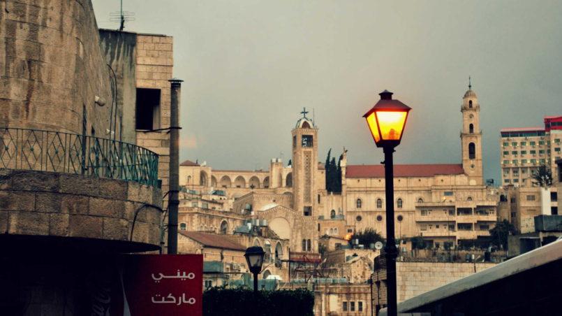 Aussicht auf Bethlehem